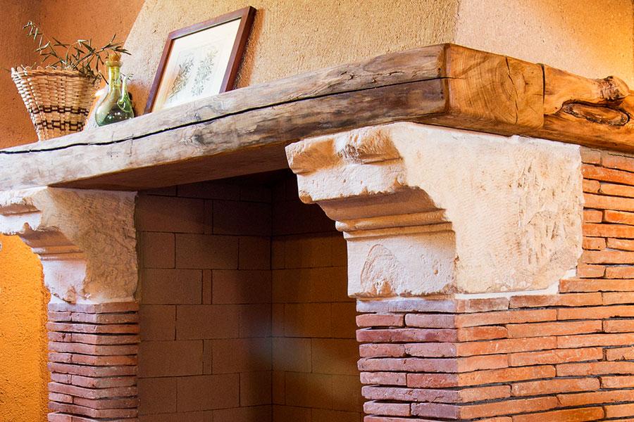 Camini Rustici In Mattoni : Camini in muratura mattoni e pietraimpresa edile illasi dal bosco